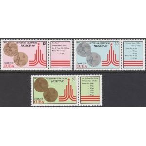 Kuuba - Moskva 1980 olümpia, **