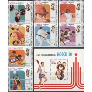 Kuuba - Moskva 1980 olümpia (II), **