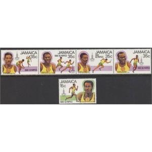 Jamaica - Moskva 1980 olümpia, **