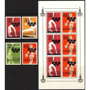 Hollandi Antillid - Moskva 1980 olümpia, **