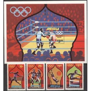 Antigua - Moskva 1980 olümpia, **