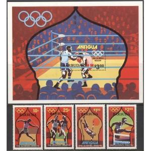 Antigua ja Barbuda - Moskva ´80 olümpia, **
