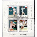 Põhja-Korea - tennis 1986, templiga