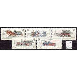 NSVL - vanad tuletõrjemasinad 1984, MNH