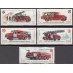 NSVL - tuletõrjeautod 1985, puhas (MNH)