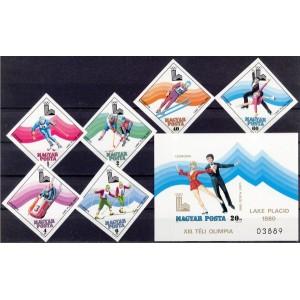 Ungari - Lake Placid 1980 olümpia, lõig. **