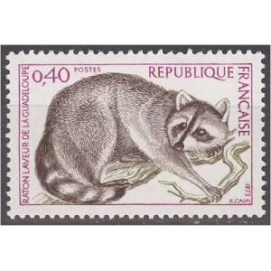 Prantsusmaa - loom 1973, puhas (MNH)
