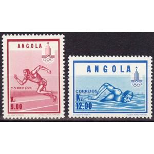 Angoola - Moskva 1980 olümpia, **