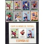 Zaire - Espana ´82 jalgpalli MM, MNH