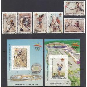 Salvador - Barcelona 1992 olümpia, **