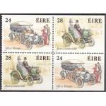 Iirimaa - vanad autod 1989, puhas (MNH)