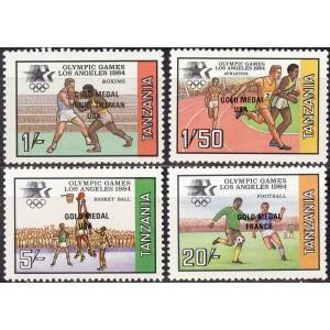 Tansaania - Los Angeles 1984 olümpia, **