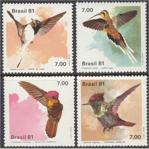 Brasiilia - linnud 1981, **