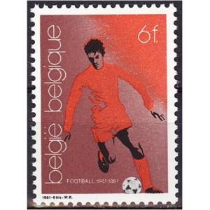 Belgia - 100 aastat Belgia jalgpalli, **