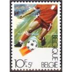 Belgia - jalgpall 1982, puhas (MNH)