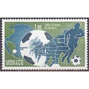 Monaco - Argentina ´78 jalgpalli MM, MNH