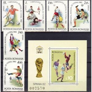Rumeenia - Espana ´82 jalgpalli MM, **