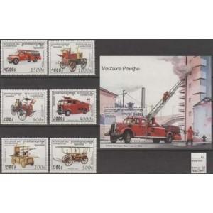 Kampuchea - tuletõrjautod 1997, **