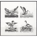 1992 Mare Balticum - linnud, musttrükk