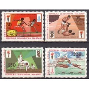 Madagaskar - Moskva 1980 olümpia, **