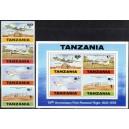 Tansaania - lennukid 1978, **