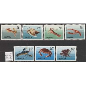 Albaania - mereloomad 1968, **