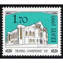 Eesti - 1995 Teater Vanemuine 125, **