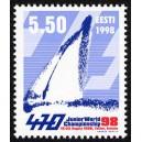 Eesti - 1998 Juunioride MM purj. klassis 470, **