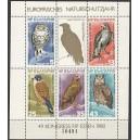 Bulgaaria - linnud 1980, MNH poogen
