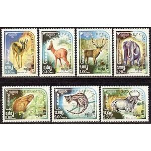 Kampuchea - loomad 1984, **