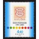 Eesti - 2001 10 a. Eesti postmargi taassünnist, **