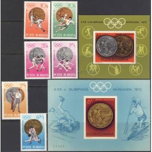 Rumeenia - München 1972 olümpia IV, **