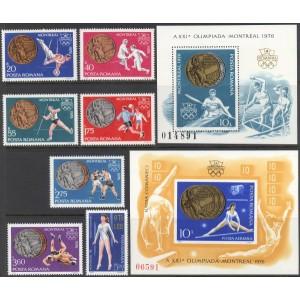 Rumeenia - Montreal 1976 medalivõitjad, **