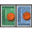 Suriname - korvpall 1984, **