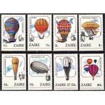 Zaire - 200 a. õhusõitu, õhupallid 1984, **