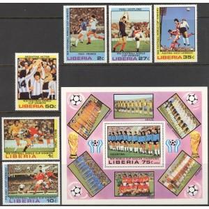 Libeeria - Jalgpalli MM, Argentiina 1978, **