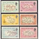 Falkland Islands - maakaart 1981, **