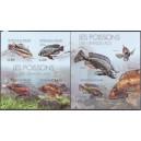 Burundi - kalad (I) 2012, lõigatud **