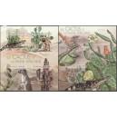 Burundi - kõrbeloomad ja kaktused 2012, lõigatud **