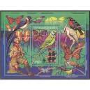 Guinea - linnud, liblikad 1993, ületrükk **