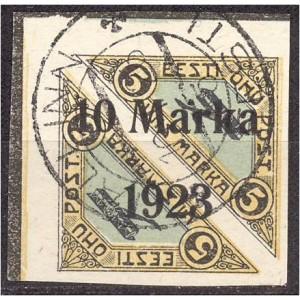 Eesti 1923, Õhupost ületr. 10m, templiga garantii