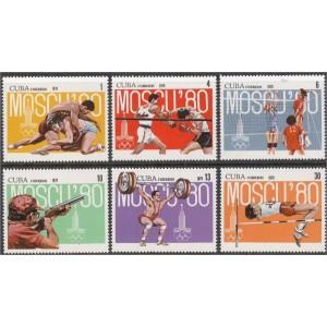 Kuuba - Moskva 1980 olümpia (I), **
