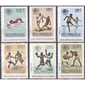 Mosambiik - Los Angeles 1984 olümpia, **